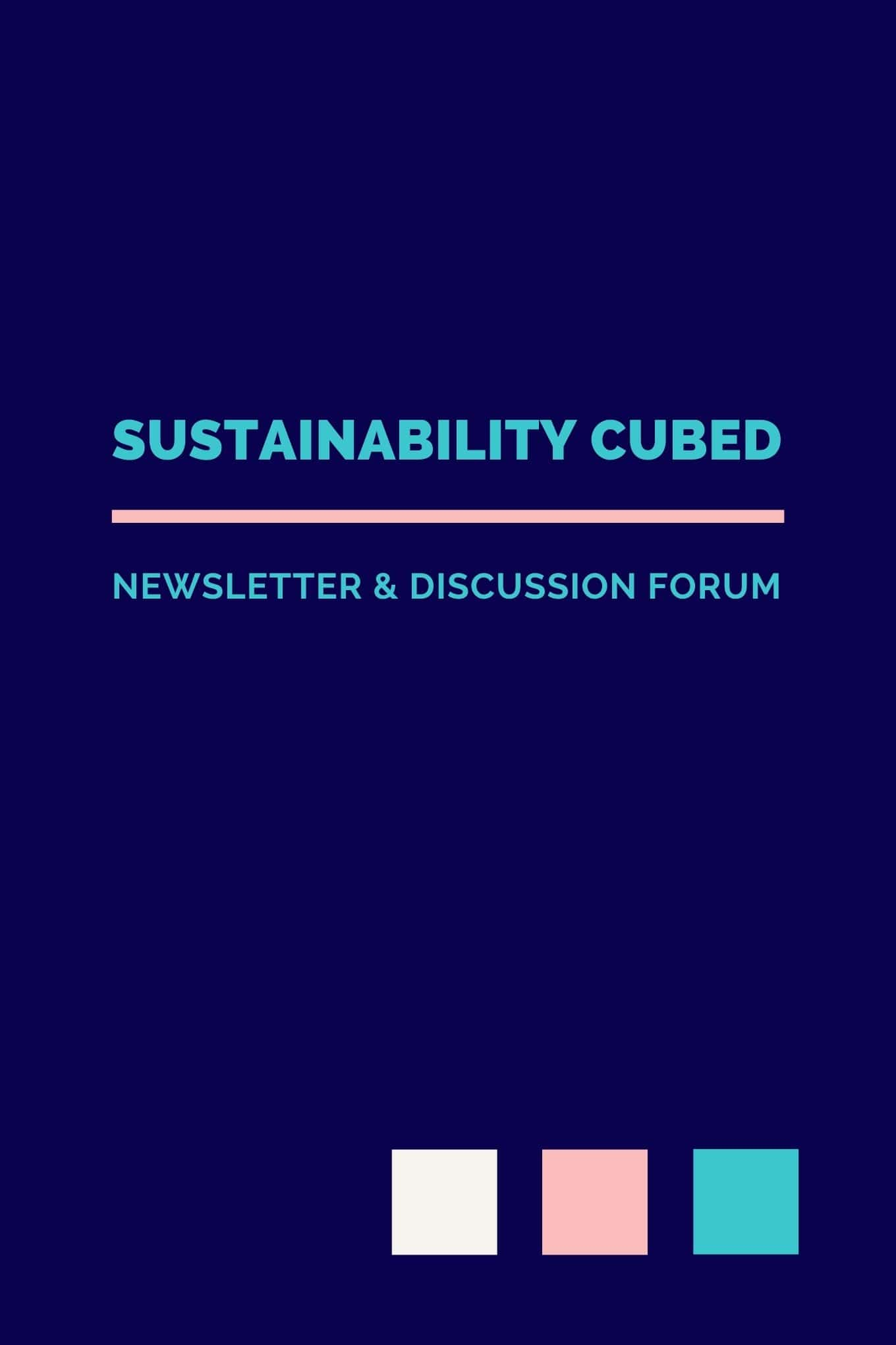 Sustainability Cubed Substack