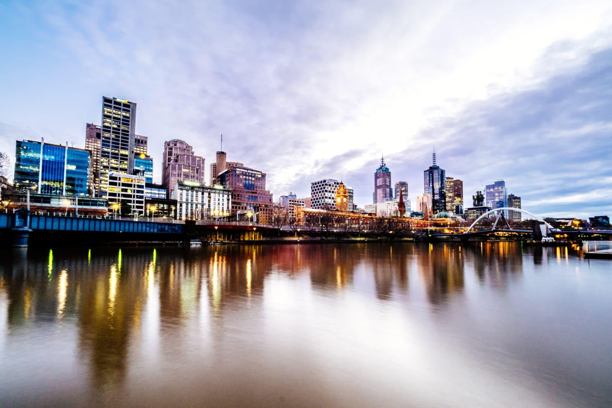 Melbourne CBD Sunrise
