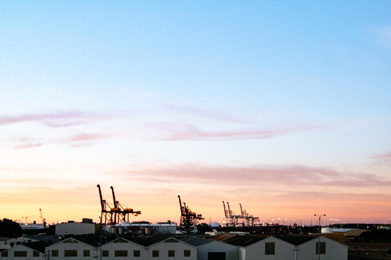 Fremantle Port Sunrise
