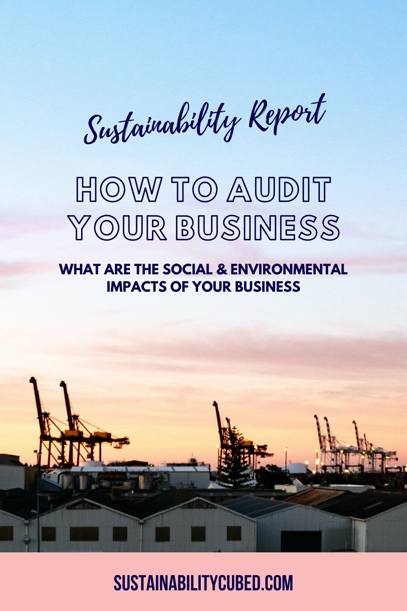Sustainability Report: A Transparent Business Audit