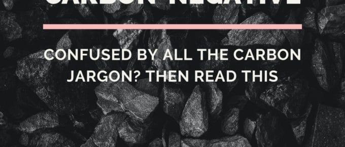 Carbon Jargon