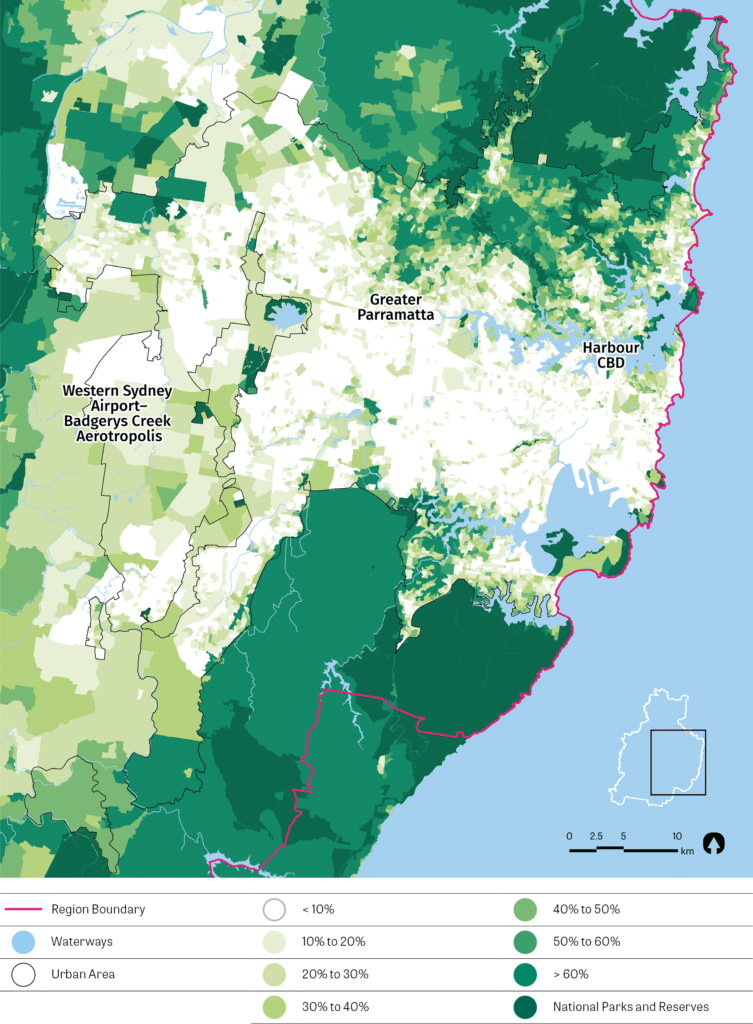 May of Sydney Tree Canopy Cover
